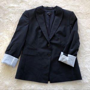 Ann Taylor navy blazer size 4